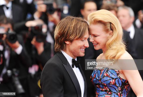 Musician Keith Urban and jury member actress Nicole Kidman attend the Inside Llewyn Davis Premiere during the 66th Annual Cannes Film Festival at...