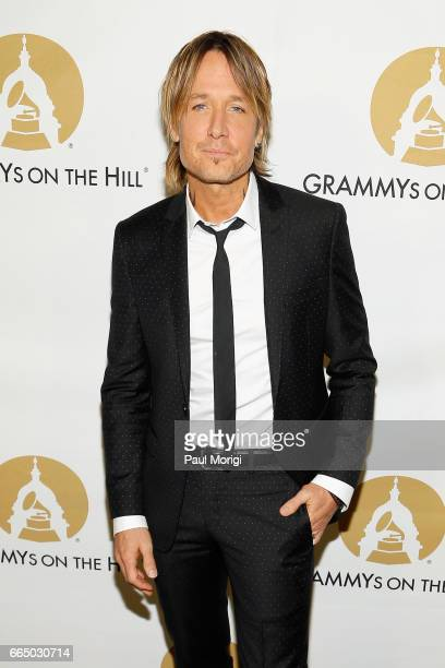 Musician Keith Urban at The Recording Academy®'s 2017 GRAMMYs on the Hill® Awards on April 5 to honor fourtime GRAMMY® winner Keith Urban with the...