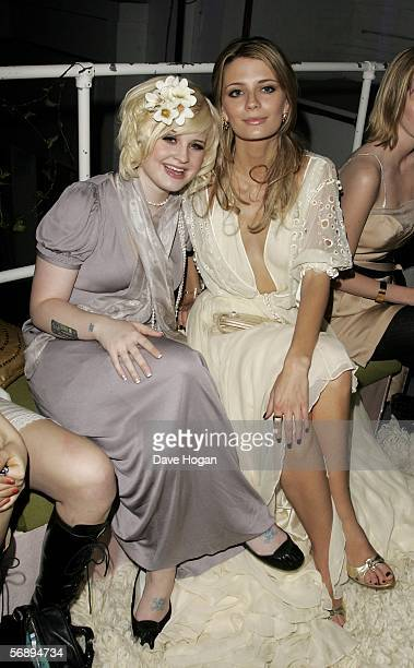 Musician Kelly Osbourne and actress Mischa Barton attend the after party following the ELLE Style Awards 2006 the fashion magazine's annual awards...
