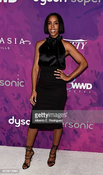 Musician Kelly Rowland attends the 2nd Annual StyleMaker Awards hostd by Variety and WWD at Quixote Studios West Hollywood on November 17 2016 in...