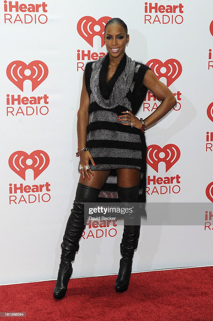 Musician Kelly Rowland attends the iHeartRadio Music Festival at the MGM Grand Garden Arena on September 20, 2013 in Las Vegas, Nevada.