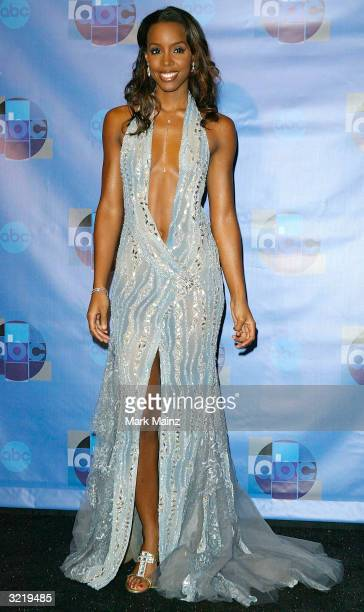 Musician Kelly Rowland attends the press room for Motown 45 a celebration of music that established the record label at the Shrine Auditorium April 4...