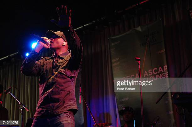 Musician Kenna performs onstage at the ASCAP Tribeca Music Lounge held at the Canal Room during the 2007 Tribeca Film Festival on May 1, 2007 in New...