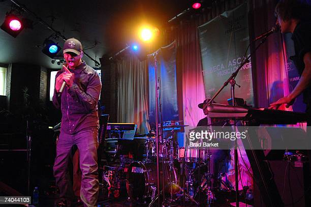 Musician Kenna performs onstage at the ASCAP Tribeca Music Lounge held at the Canal Room during the 2007 Tribeca Film Festival on May 1 2007 in New...