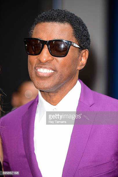 Musician Kenny 'Babyface' Edmonds leaves the 'Good Morning America' taping at the ABC Times Square Studios on September 07 2016 in New York City
