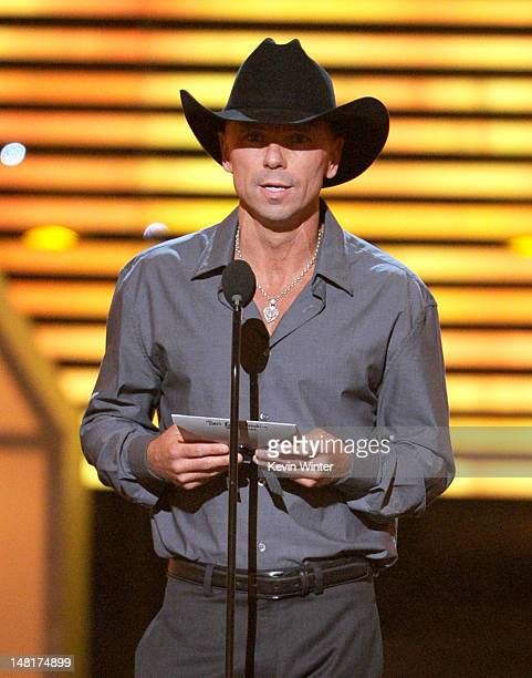 Musician Kenny Chesney speaks onstage during the 2012 ESPY Awards at Nokia Theatre LA Live on July 11 2012 in Los Angeles California