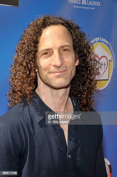 Musician Kenny G arrives at the Third Annual George Lopez Celebrity Golf Classic at the Lakeside Golf Club on May 3 2010 in Toluca Lake California