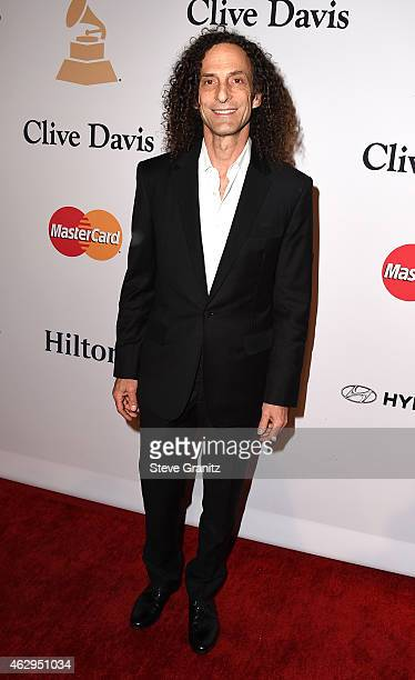 Musician Kenny G attends the PreGRAMMY Gala and Salute To Industry Icons honoring Martin Bandier on February 7 2015 in Los Angeles California