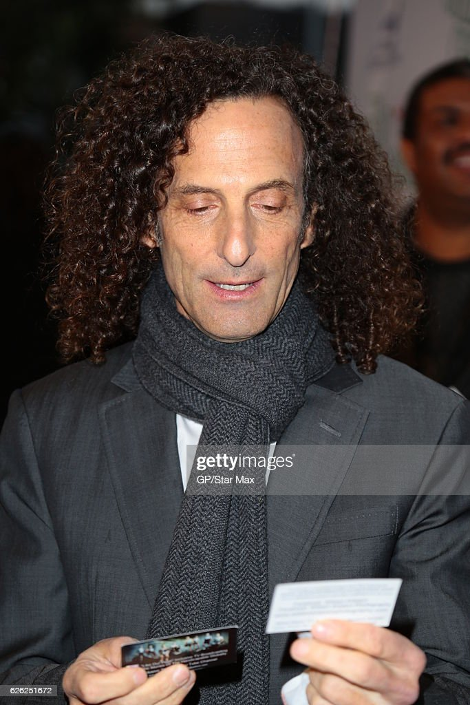 Kenny G Christmas.Musician Kenny G Is Seen On November 27 2016 At The