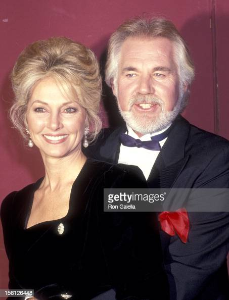 Musician Kenny Rogers and wife Marianne Gordon attend the ...