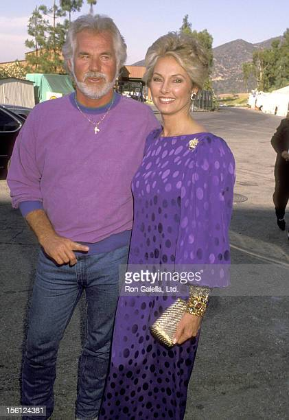 Musician Kenny Rogers and wife Marianne Gordon attend the Dionne Warwick and The Warwick Foundation Third Annual 'That's What Friends Are For' AIDS...