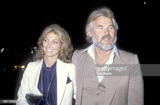 Musician Kenny Rogers and wife Marianne Gordon attend the Post Party for Kenny Rogers Concert Performance at the Universal Amphitheatre on September...