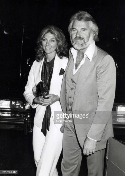"Musician Kenny Rogers and wife Marianne Gordon attending ""After Party for Kenny Rogers Concert"" on September 14, 1979 at the Beverly Hills Hotel in..."