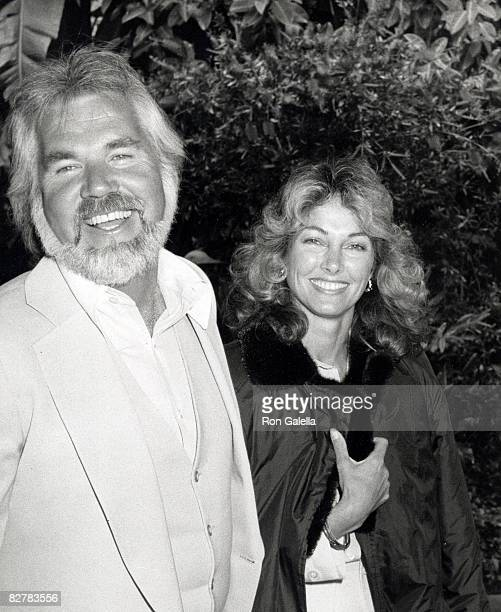 "Musician Kenny Rogers and wife Marianne Gordon attending ""Easter Brunch"" on April 19, 1981 at the Beverly Hills Hotel in Beverly Hills, California."