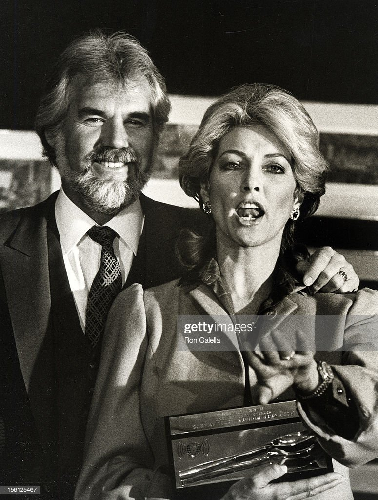 Musician Kenny Rogers and wife Marianne Gordon attending ...