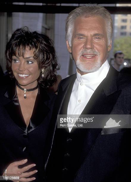 Musician Kenny Rogers and wife Wanda Miller attend The Fragrance Foundation's 26th Annual FiFi Awards on June 2 1998 at Avery Fisher Hall at Lincoln...