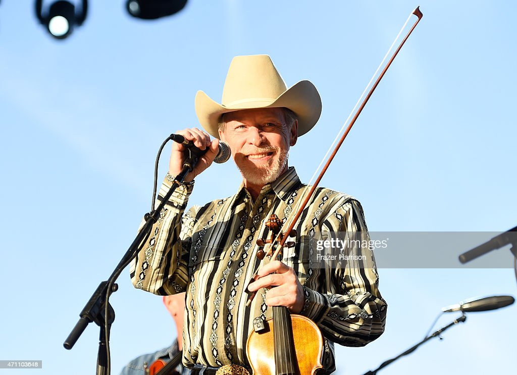 Musician Kenny Sears performs onstage with The Time Jumpers during day one of 2015 Stagecoach, California's Country Music Festival, at The Empire Polo Club on April 24, 2015 in Indio, California.