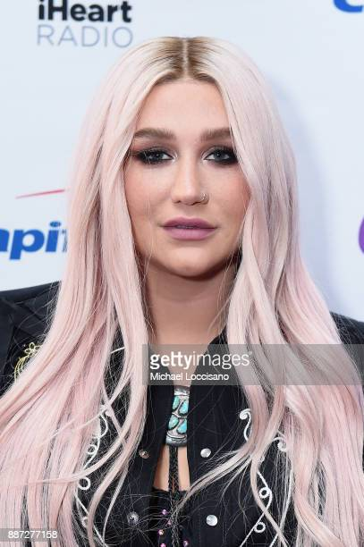 Musician Kesha attends Q102's Jingle Ball 2017 Presented by Capital One at Wells Fargo Center on December 6 2017 in Philadelphia Pennsylvania