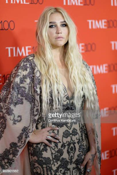 Musician Kesha attends the 2018 Time 100 Gala at Jazz at Lincoln Center on April 24, 2018 in New York City.