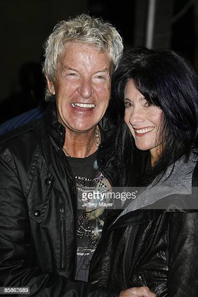 Musician Kevin Cronin of REO Speedwagon and wife Lisa arrive at the Los Angeles premiere of Anvil The Story Of Anvil at The Egyptian Theatre on April...