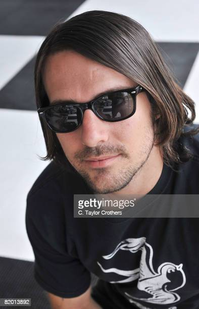 Musician Kevin Faulkner of Sleepwall poses for a portrait during the 2008 Mile High Music Festival at Dick's Sporting Goods Park on July 19, 2008 in...