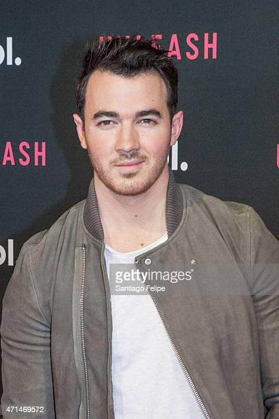 Musician Kevin Jonas at AOL Newfronts 2015 at at 4 World Trade Center on April 28 2015 in New York City