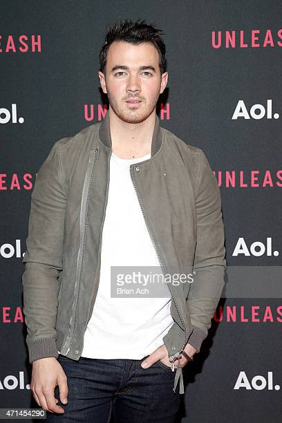 Musician Kevin Jonas of the Jonas Brothers attends the AOL 2015 Newfront on April 28 2015 in New York City