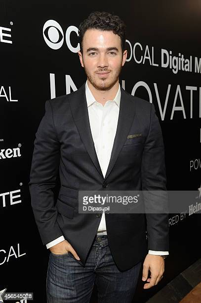 Musician Kevin Jonas poses at the CBS Local Digital Media Innovation Demo Day on October 2 2014 in New York City