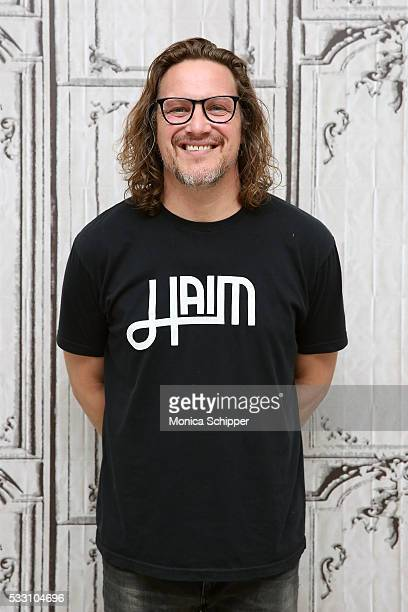 Musician Kevin Martin attends AOL Build Presents 'Candlebox Disappearing In Airports' at AOL Studios In New York on May 20 2016 in New York City