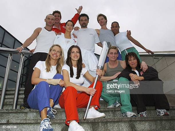 Musician Kevin Simm actor Jonathon Morris Princess Tamara CzartoryskiBorbon the cousin of King Juan Carlos of Spain TV presenter Craig Charles...