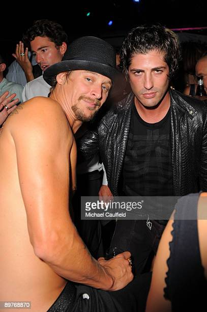 Musician Kid Rock and actor Brandon Davis attend In Touch Weekly's ICONS IDOLS CELEBRATION with performances by Good Charlotte Leona Lewis and The...