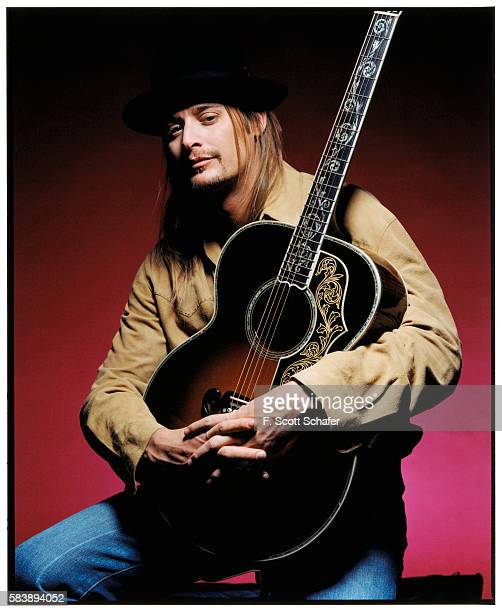 Musician Kid Rock is photographed for Blender Magazine in 2002.