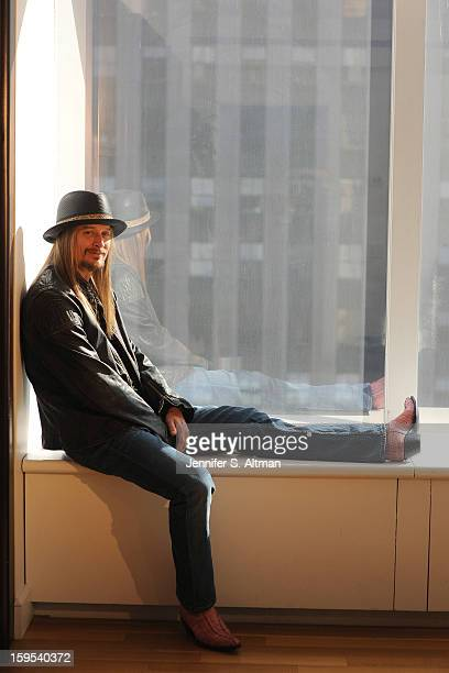 Musician Kid Rock is photographed for Los Angeles Times on November 14 2012 in New York City