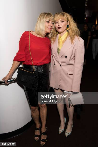 Musician Kim Gordon and actress Natasha Lyonne attend 'Women Under the Influence hosts a special screening of Natasha Lyonne's directorial debut for...