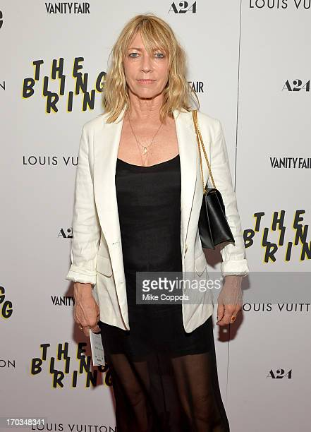 Musician Kim Gordon attends The Bling Ring screening at Paris Theatre on June 11 2013 in New York City