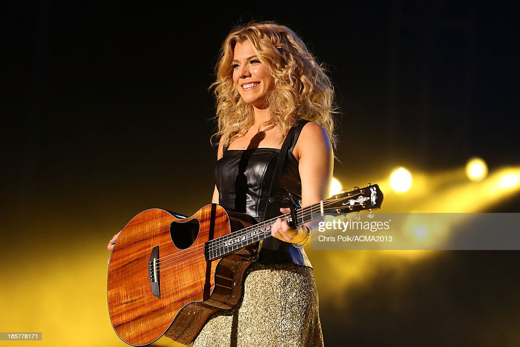 Musician Kimberly Perry of The Band Perry performs onstage at the ACM Party For A Cause Festival during the 48th Annual Academy of Country Music Awards at the Orleans Arena on April 5, 2013 in Las Vegas, Nevada.