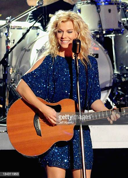 Musician Kimberly Perry of The Band Perry performs onstage durnig The GRAMMY Nominations Concert Live! Countdown to Music's Biggest Night at Nokia...