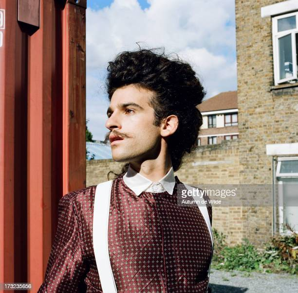 Musician King Charles is photographed for The Lab Magazine on February 3, 2012 in London, England.