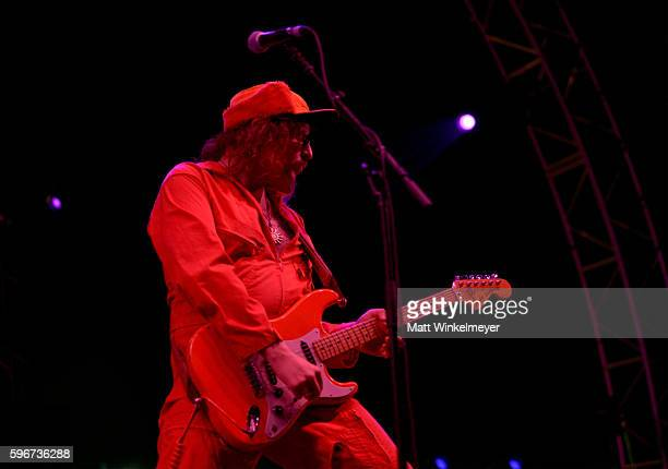Musician King Tuff of Ty Segall The Muggers performs onstage during FYF Fest 2016 at Los Angeles Sports Arena on August 27 2016 in Los Angeles...