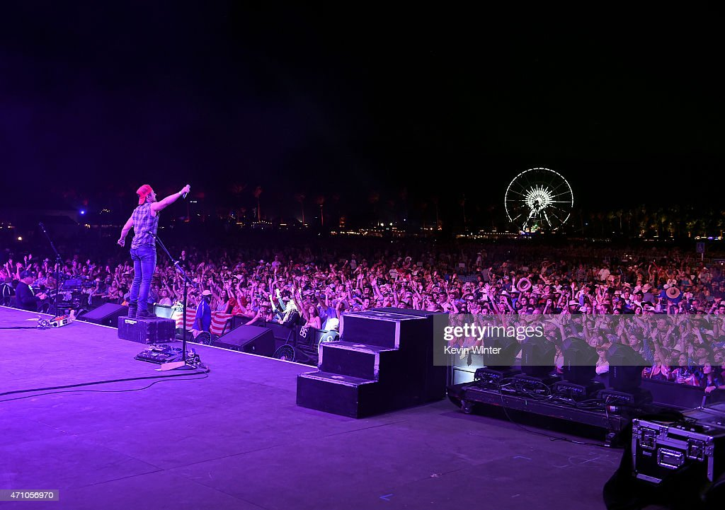 Musician Kip Moore performs onstage during day one of 2015 Stagecoach, California's Country Music Festival, at The Empire Polo Club on April 24, 2015 in Indio, California.
