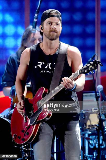 Musician Kip Moore performs onstage during the 2017 iHeartCountry Festival A Music Experience by ATT at The Frank Erwin Center on May 6 2017 in...