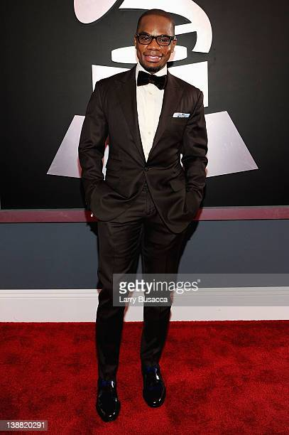 Musician Kirk Franklin arrives at the 54th Annual GRAMMY Awards held at Staples Center on February 12 2012 in Los Angeles California