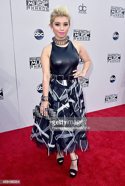 Musician Kirstie Maldonado of Pentatonix attends the 2014 American Music Awards at Nokia Theatre LA Live on November 23 2014 in Los Angeles California