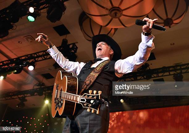 Musician Kix Brooks of Brooks & Dunn performs onstage during Muhammad Ali's Celebrity Fight Night XXII at the JW Marriott Phoenix Desert Ridge Resort...