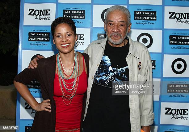 Musician Kori Withers and Bill Withers arrive at the 2009 Los Angeles Film Festival's Soul Power Music by Kori Withers at the John Anson Ford...