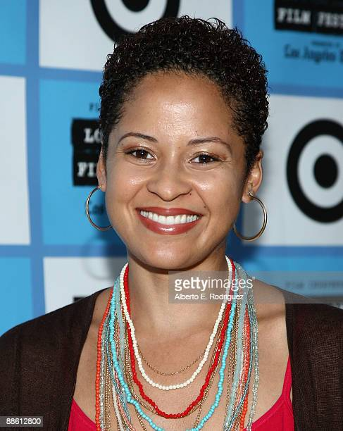 Musician Kori Withers arrives at the 2009 Los Angeles Film Festival's Soul Power Music by Kori Withers at the John Anson Ford Amphitheatre on June 21...