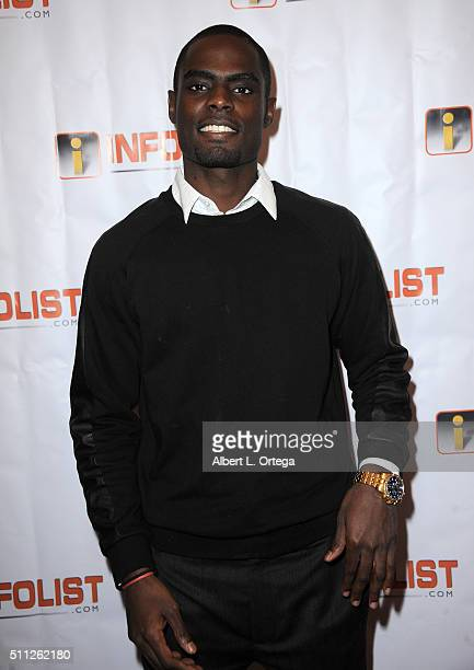 Musician Kris Brown arrives for the InfoList PreOscar Soiree And Birthday Party for Jeff Gund held at OHM Nightclub on February 18 2016 in Hollywood...
