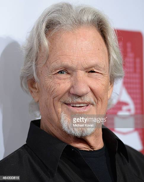 Musician Kris Kristofferson arrives at the 56th GRAMMY Awards PE Wing Event Honoring Neil Young at The Village Recording Studios on January 21 2014...