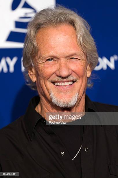 Musician Kris Kristofferson attends A Song Is Born 16th Annual GRAMMY Foundation Legacy Concert Arrivals at The Wilshire Ebell Theatre on January 23...