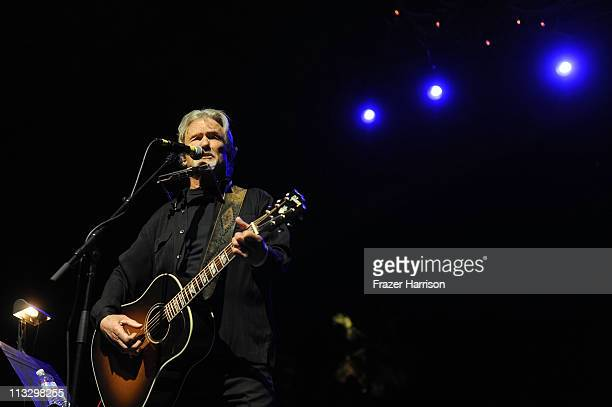 Musician Kris Kristofferson performs onstage during 2011 Stagecoach California's Country Music Festival at the Empire Polo Club on April 30 2011 in...